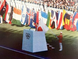 東京オリンピック万国旗